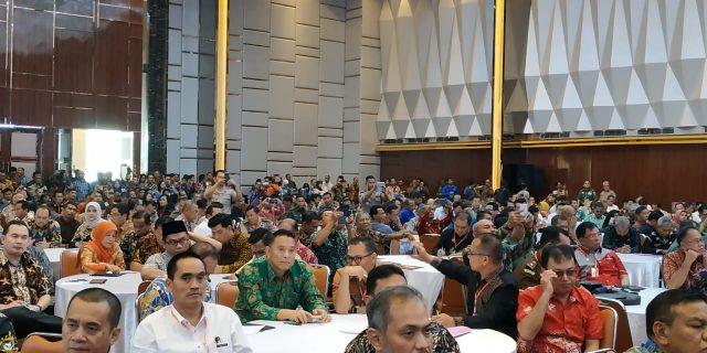 Walikota Eman Hadiri Rakornas Tim Terpadu Penanganan Konflik Tahun 2019 di Jakarta