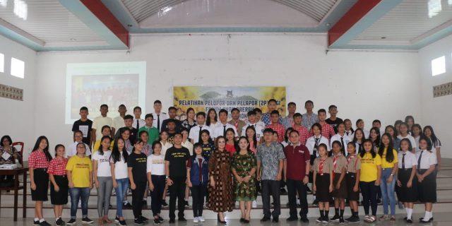 Wakili Walikota Sompotan Hadiri Pelatihan Pelopor Bagi Forum Anak Daerah Kota Tomohon