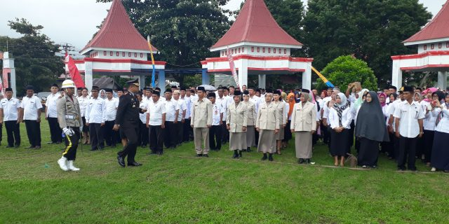 Polres Kotamobagu Gelar Upacara Puncak Perayaan HUT Bhayangkara ke-73 di Bolsel