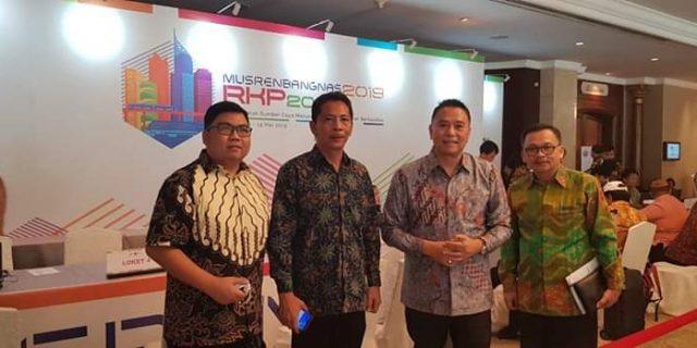 Walikota Eman Hadiri Musrenbangnas 2019