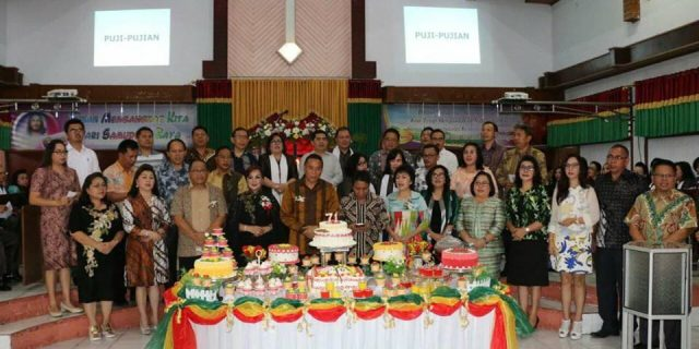 JFE-SAS Menghadiri Ibadah Syukur HUT Ke-71 Jemaat GMIM Bait-lahim Talete Satu