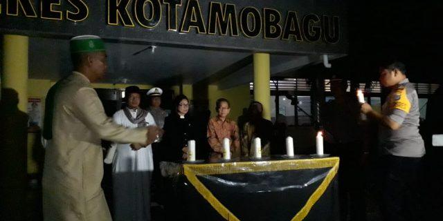 Jelang Pemilu 2019, Polres Kotamobagu Gelar Doa Bersama