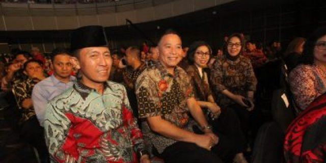 Walikota Eman Hadiri Penutupan Sulut Expo 2019 di Jakarta