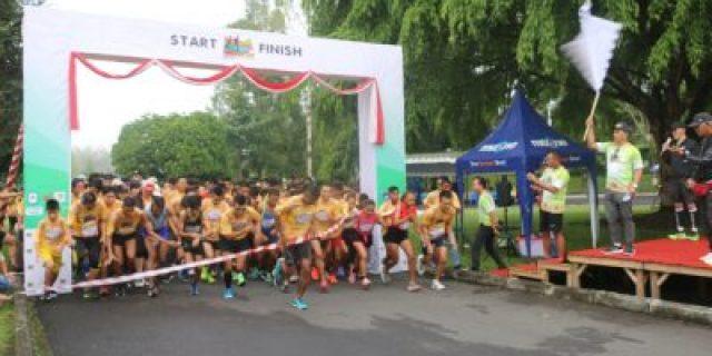 325 Peserta Ramaikan Kejuaraan Tomohon Run 2019 10K