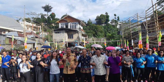 Walikota Eman Hadiri Pembukaan HUT Ke-6 Jemaat Bukit Moria Rurukan