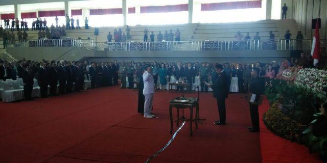 Dilantik Gubernur, Mewoh Gantikan JWS Pimpin Minahasa