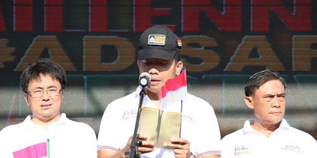 MRSF 2019, Kapolda Sulut Ajak Kawula Muda Jadi Model Tertib Berlalulintas