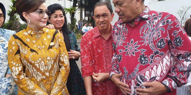 Bersama Gubernur Olly Dondokambey Bupati Paruntu Hadiri Undangan Pertemuan Dengan Presiden Jokowi