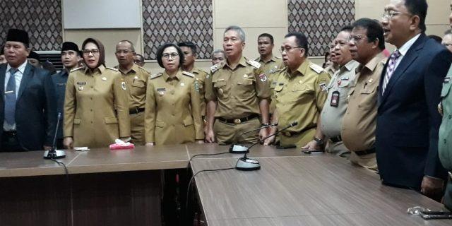 RD Harap Kepala Perwakilan BPKP Sulut Baru Tetap Jadi Mitra Kerja Pemkab Minahasa