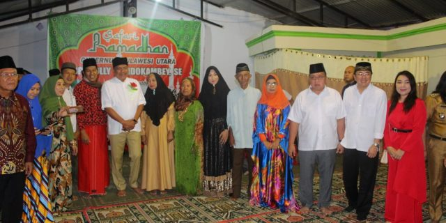 Pemprov Sulut dan Pemkab Minahasa Safari Ramadhan di Langowan