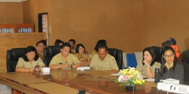 Pemkot Tomohon Gelar Rapat Rancangan Awal Rencana Kerja Perangkat Daerah