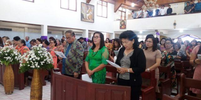 Wakili Walikota Sekot Lolowang Hadiri Ibadah Syukur Pengutusan Pdt.Febry Vicka Rumimper