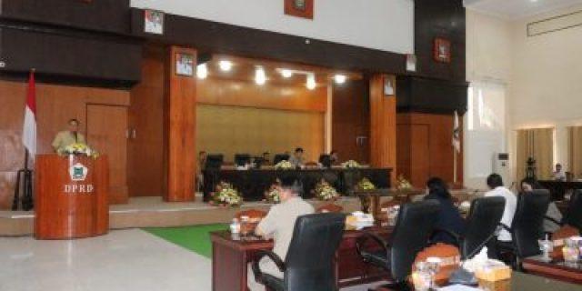 Rapat Paripurna Penetapan Susunan Calon Pimpinan Definitif DPRD Kota Tomohon