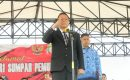 Walikota Eman Tampil Sebagai IRUP Hari Sumpah Pemuda Ke-90 di Kota Tomohon,