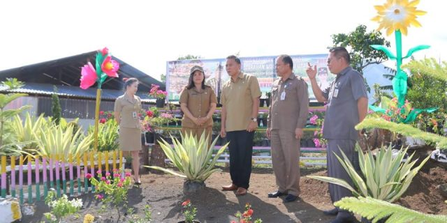 Panitia TIFF 2018 Kota Tomohon Gelar Lomba Taman Bunga Antar Kelurahan